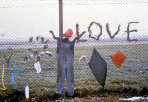 Greenham Common 'Embrace the Base' Protest, December 1980